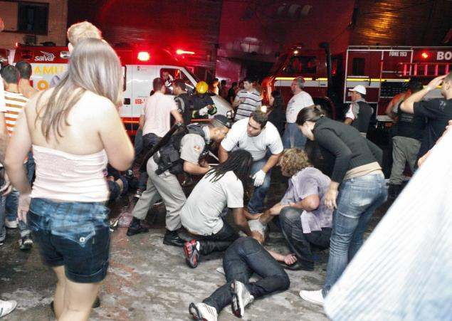 245 Die In Panicky Stampede In Brazil Club Fire Dialogue